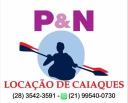 Aluguel de Caiaques, nas Praias, Rios e Lagoas do ES