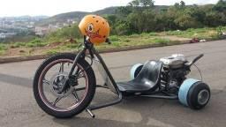 drift trike motorizado troco por moto e volto a vista