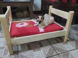 Cama feita para gatos