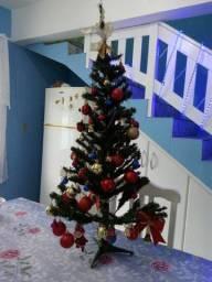 Kit de natal papai noel, Pinheiro e guirlandas