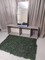 Título do anúncio: Vendo móveis e espelho para salão 600 00 ZAP *45