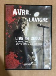 DVD Avril Lavigne Live In Seoul
