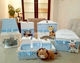 Título do anúncio: Kit higiene mdf bebê