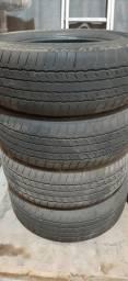 Título do anúncio: Jogo 4 pneus 265/60 aro 18 Bridgestone