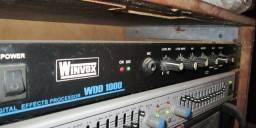 Título do anúncio: Processador de efeito Delay Reverb Winvox