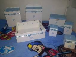 Kit higiene bb azul