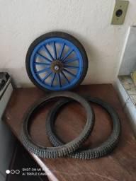 Barato roda e pneus bicicleta leia descriçao