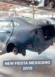 Sucata new fiesta 1.6 2014