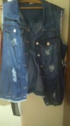 Colete Jeans Plus Size G3