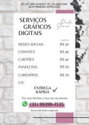 Título do anúncio: Serviços Gráficos