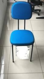 Título do anúncio: Cadeira fixa palito para escritório, cursos, igrejas sala de espera