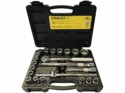 Título do anúncio: Jogo de Soquetes Stanley STMT81242-84 - 8-32mm 22 Peças