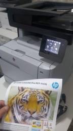 Título do anúncio: Impressora colorida laser HP wifi de alto padrao confira