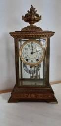 Título do anúncio: Relógio de Mesa / Lareira Antigo