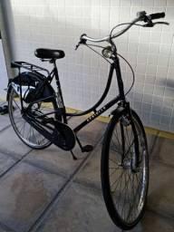 Bicicleta clássica retrô feita a mão