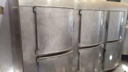 Título do anúncio: Camara Fria inox 6 porta grande
