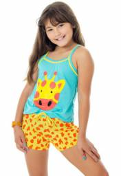 Pijama Infantil Girafinha