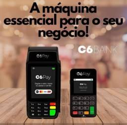 C6 Pay maquininhas de cartão