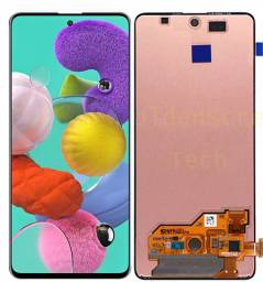 Tela Frontal Touch Display Samsung A30 A31 A50 A51 A70 A80