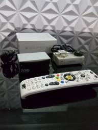 Kit Ponto Escravo Modulador Rf + Extensor De Controle Remoto + Controle remoto SKY