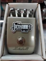 Pedal Marshall Jackhammer e pedaleira Zoom G1 NK
