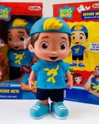 Boneco Lucas Neto Rosita Original fala 14 frases