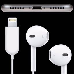 Fone De Ouvido Iphone Lightning Ear7+ Plus Original