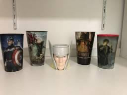 Título do anúncio: Copos Cinemark e Thor