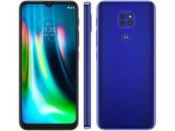 Smartphone Motorola Moto G9 Play 64GB Azul Safira
