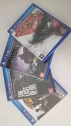 Pacote de 4 jogos PS4