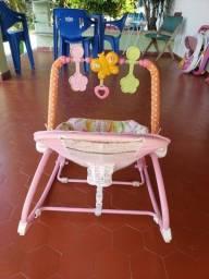 Cadeira Cadeirinha Bebê Descanso Vibra Musical 18kg fisher price.