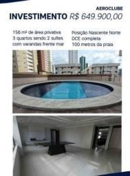 apartamento Aeroclube com 156m2