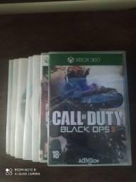 Título do anúncio: Vendo um Xbox 360 com 7 jogos e 2 controles