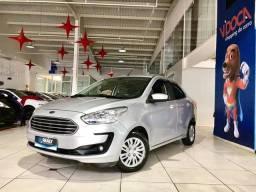 !!!Super Oferta!!! Ford Ka Sedan SE 2019 prata *Baixíssimo KM*