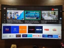 Smart TV Samsung 4K HDR 49' Tela curva
