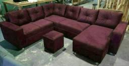 Título do anúncio: Sofa de canto~~[<\_]-[÷]..\\
