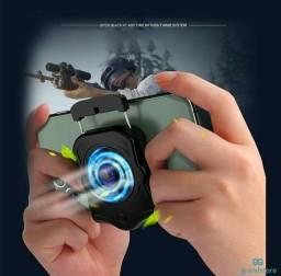 Título do anúncio: Suporte Para Celular / Cooler Para Ventoinha / Gamepad / Jogos / Shooter Mudo / Radiador