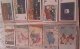 Coleção de cartões telefônicos