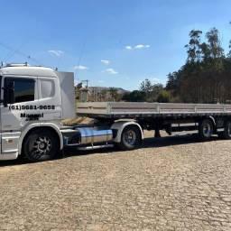Título do anúncio: Caminhão Scania p310 2014 com carreta