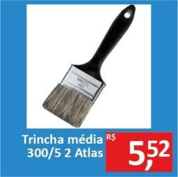 Trincha Média 300/5 2 - Atlas - Promoção R$ 5,52