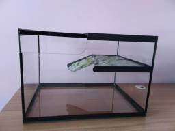 Título do anúncio: Aquáterrario para Tartaruga, com rampa
