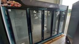 Título do anúncio: Expositor de Frios e Laticínios 5 portas Refrimate - Leila