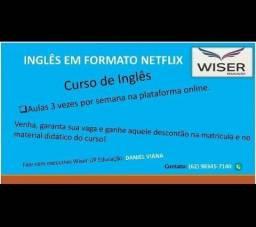 Título do anúncio: Curso de inglês