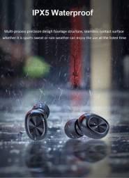 Fone Sem Fio Bluetooth 5.0 Com Caixa De Carregamento E Cabo