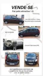 Título do anúncio: Carro Fiat Palio attractive 1.0