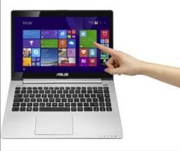"Título do anúncio: Notebook Asus Vivobook S400ca i5 4gb 2Tb Led 14"" Touch Screen - Estado de novo"