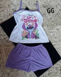 Conjunto de pijama temático, forma pequena