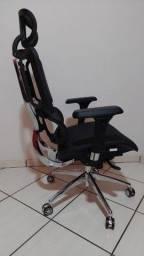 Título do anúncio: Cadeira Giratória Ergofy Top Tela Mesh Preta em Aluminio 10 Regulagens