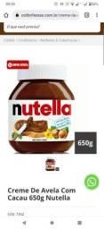 Título do anúncio: Pote barbara Nutella original