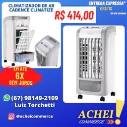 Título do anúncio: Climatizador De Ar Cadence - Climatize Compact Cli302 ? Novo - NF